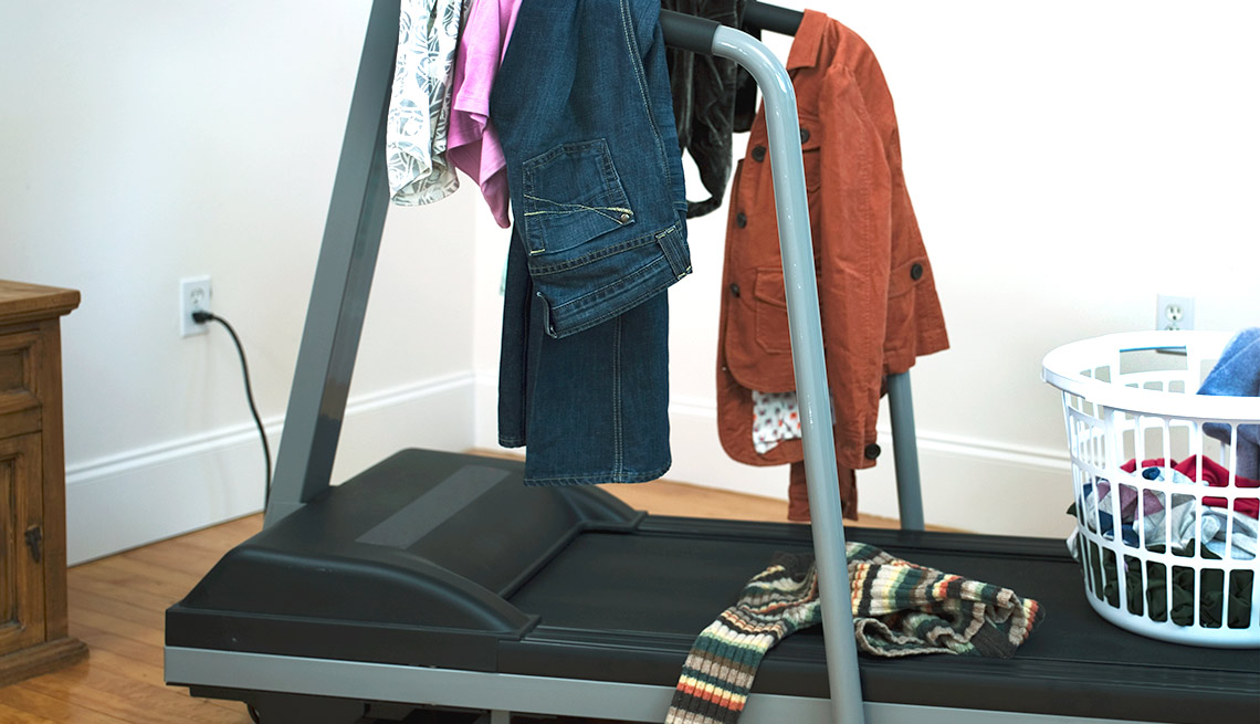 Downsizing? Ditch these 10 items - Exercise Equipment