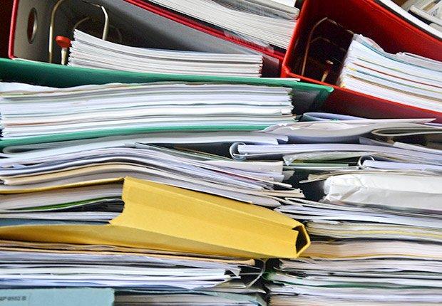 Papeles archivados - Formas de reducir tu espacio
