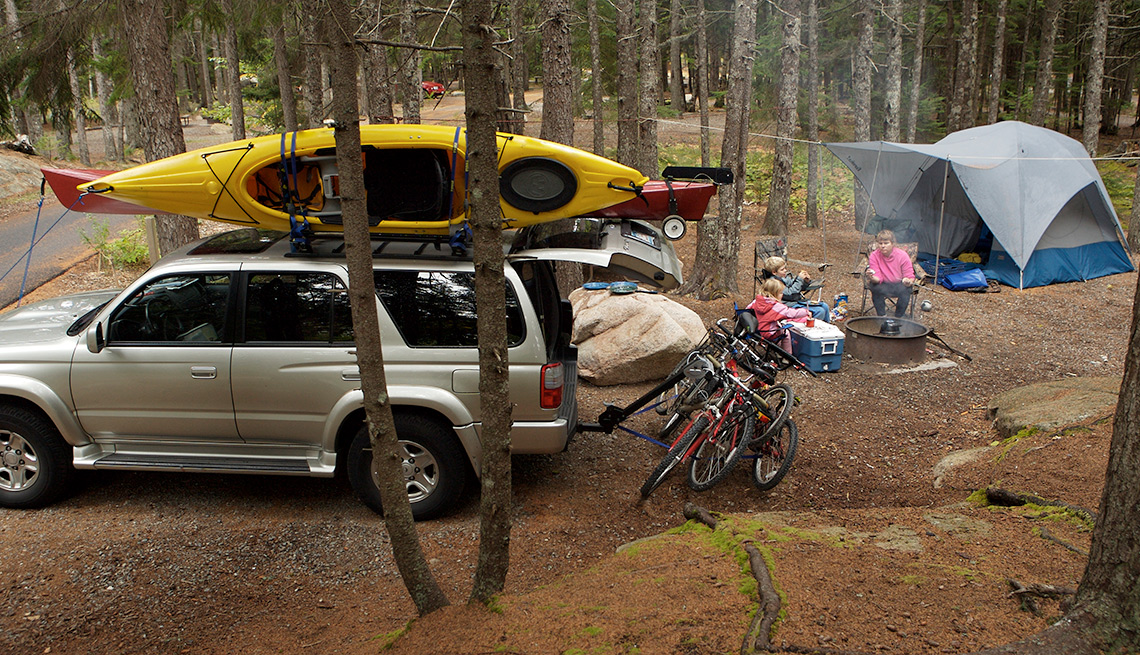Things you should rent instead of buy - Camping/Outdoors Equipment