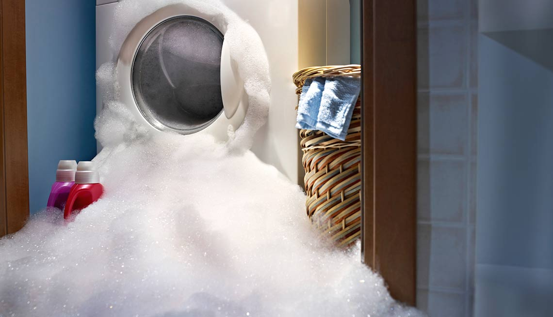 Ounce of Prevention Saves Hundreds of Dollars in Cures - clothes washer overload