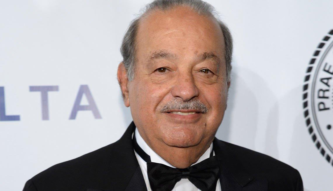 Carlos Slim - Salarios de los famosos