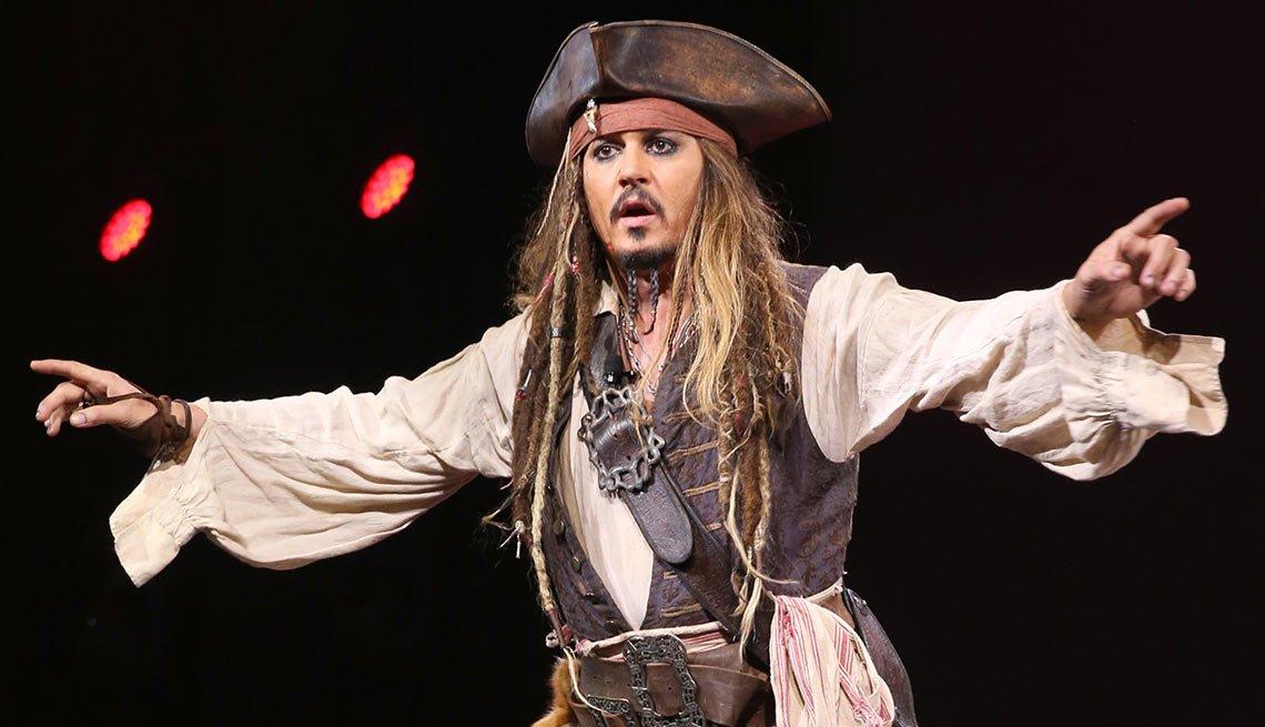 Johnny Depp - Salarios de los famosos