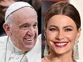 Papa Francisco y Sofía Vergara - Salarios de los famosos