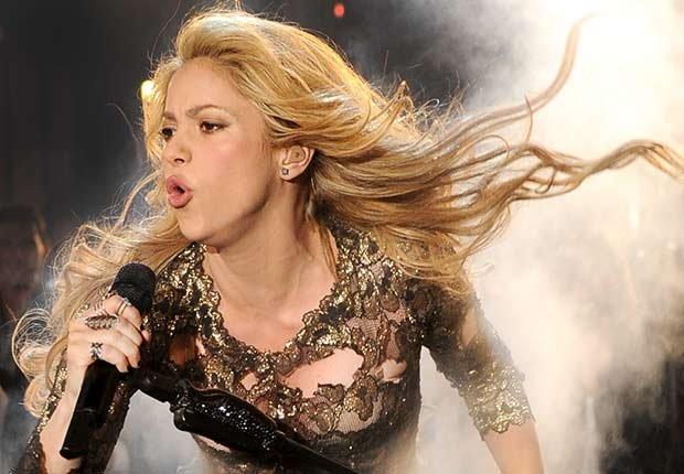 Shakira - Salarios de los famosos