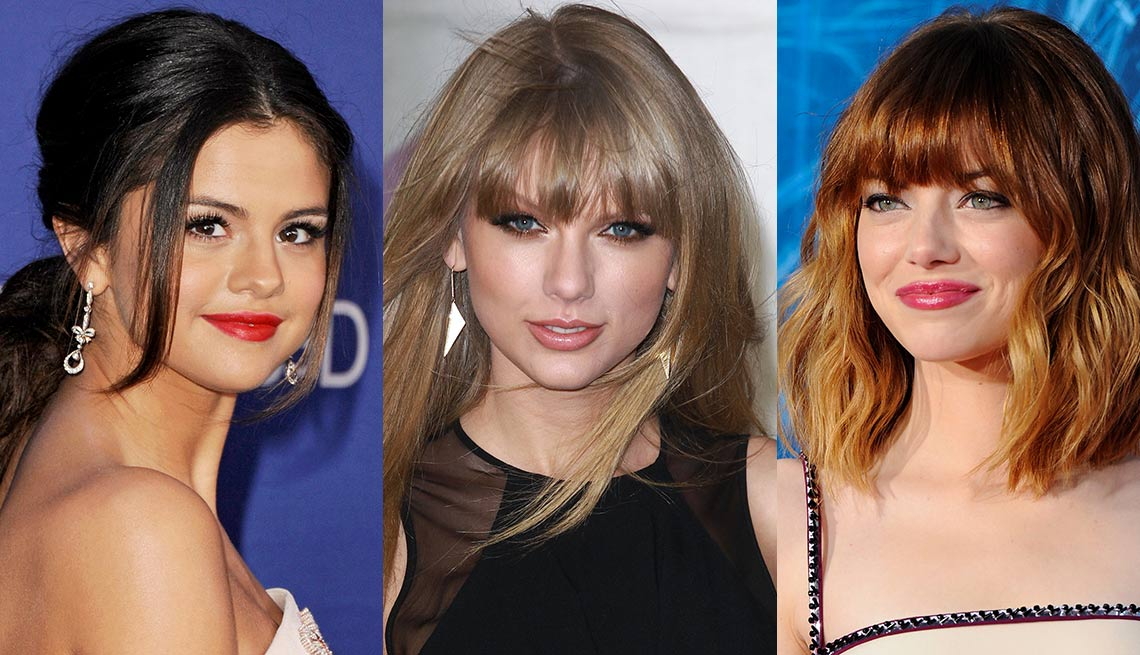 Cook More at Home - Their kitchens may be the Taj Mahal compared with ours, but a surprising number of celebrities prefer to cook at home rather than dine out at five-star eateries or hire a personal chef. From left, Selena Gomez, Taylor Swift and Emma Stone