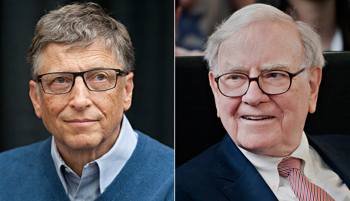 Don't Spoil Your Kids - The list of business tycoons who plan to leave only a portion of their estates to their kids includes, from left, Bill Gates, Warren Buffett