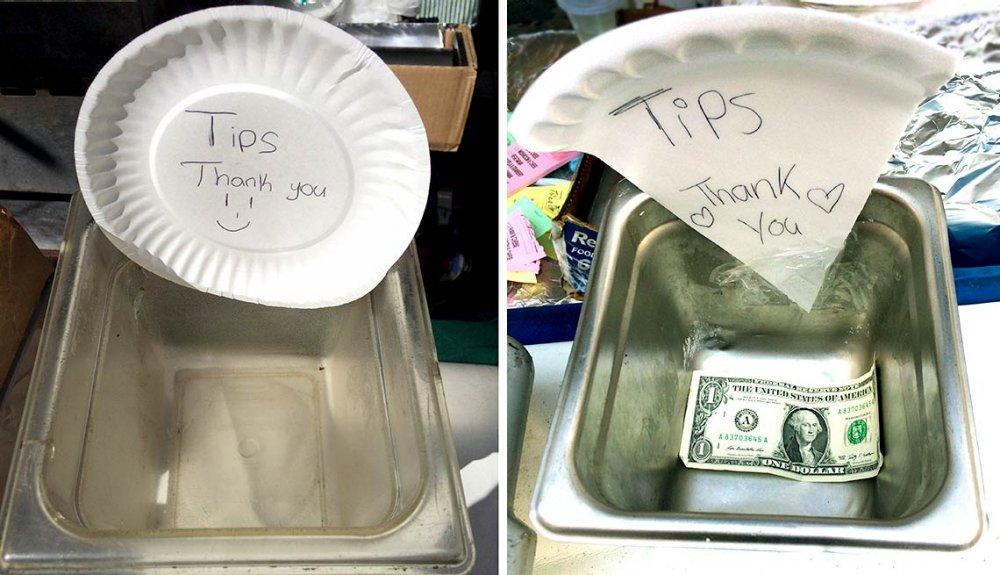 Coffee Shop Tip Jar Ideas 16725 Loadtve