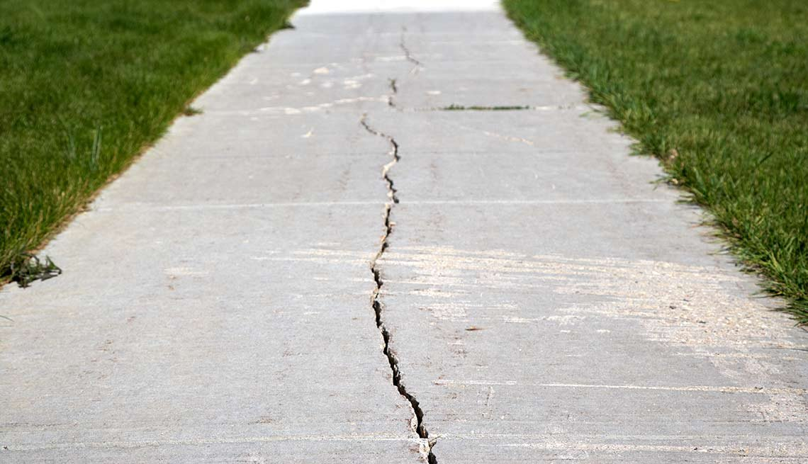 Outdoor DIY Fixes for Your Home - Patch sidewalks and driveways
