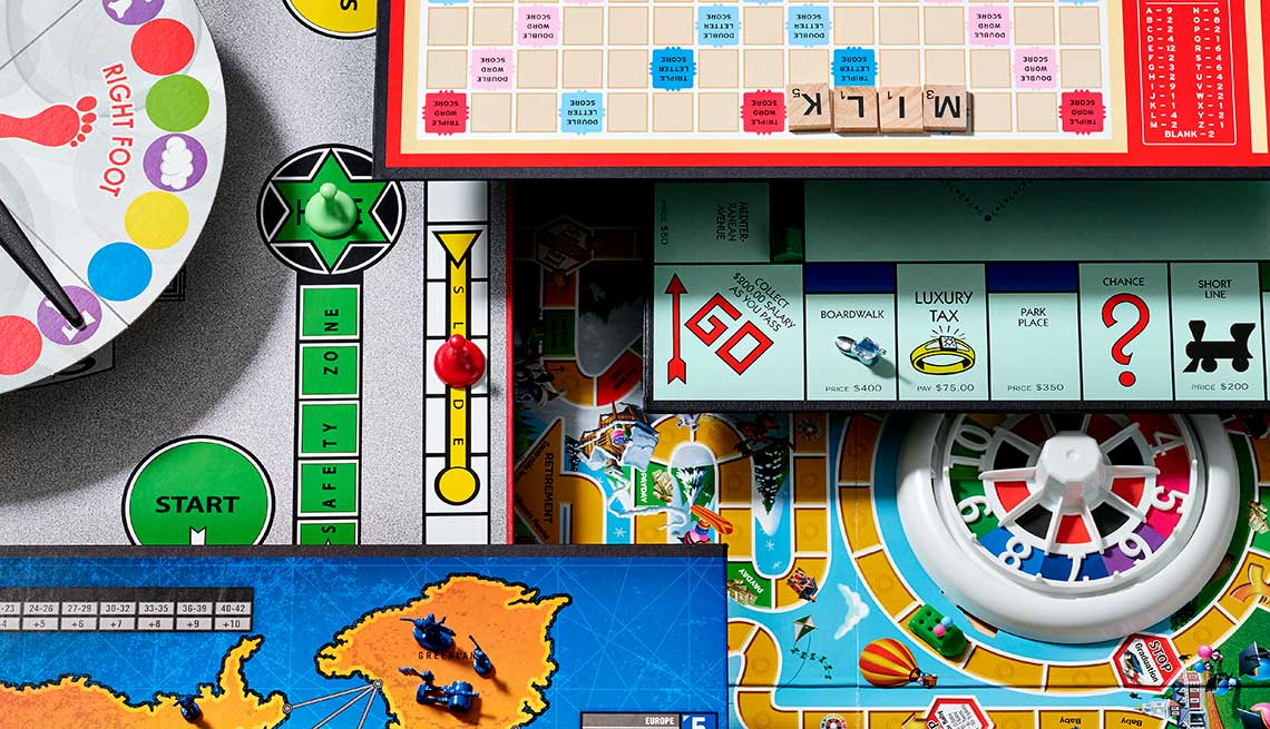 Go back to the future. Board games were fun when we were young --and they still are.
