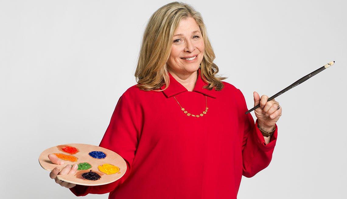 Retrato de la experta en entretenimiento Pepper Schwartz en el segmento 99 formas de ahorrar