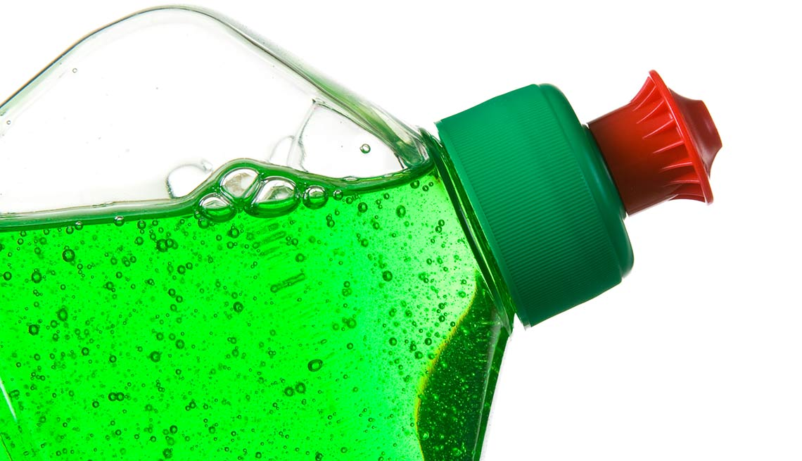 Household items with multiple uses  dish soap