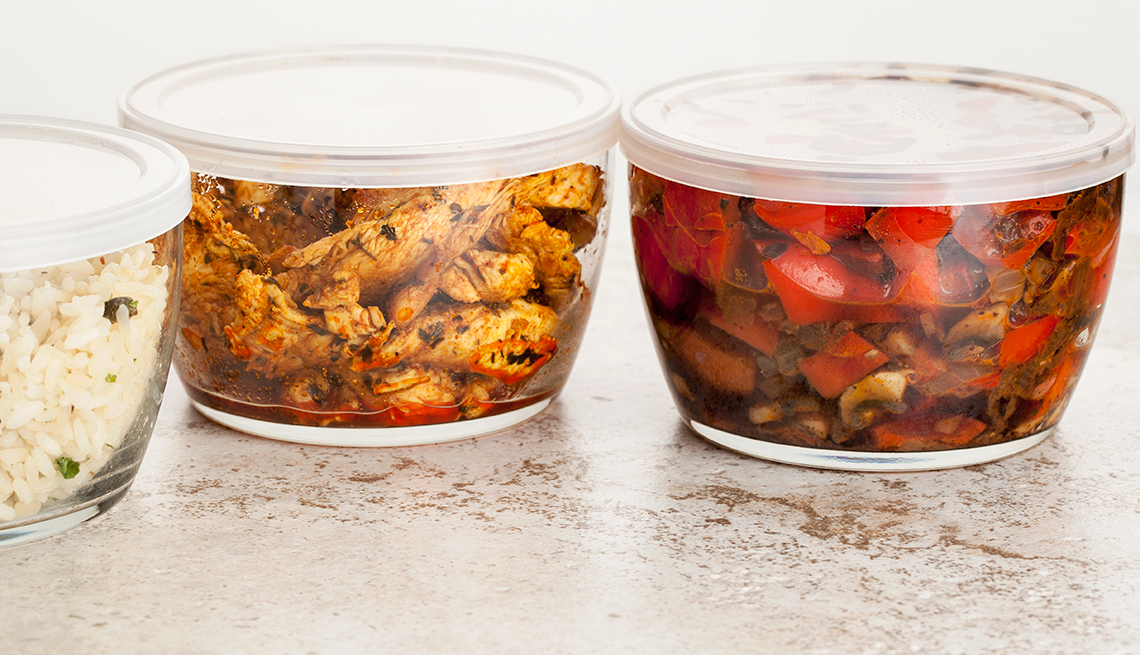holiday leftovers - send food home with guests
