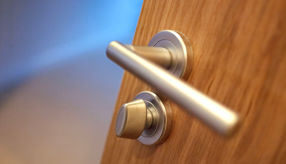 costs of aging in place - Lever door handles