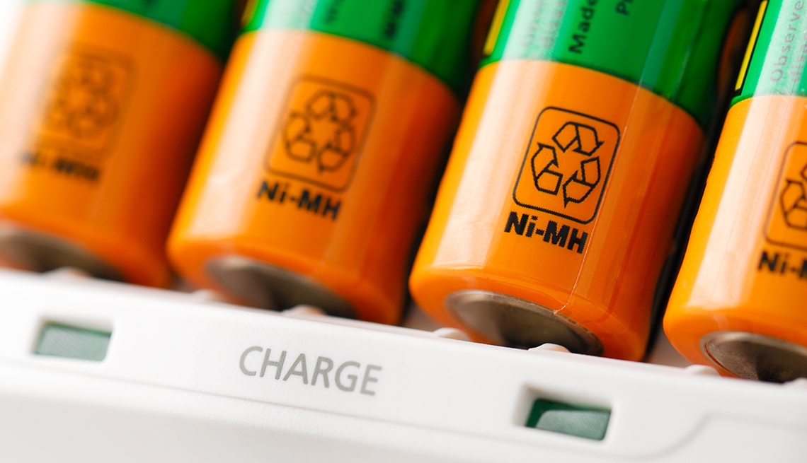 How Going Green(er) Can Save You $1500 Or More - Rechargeable batteries