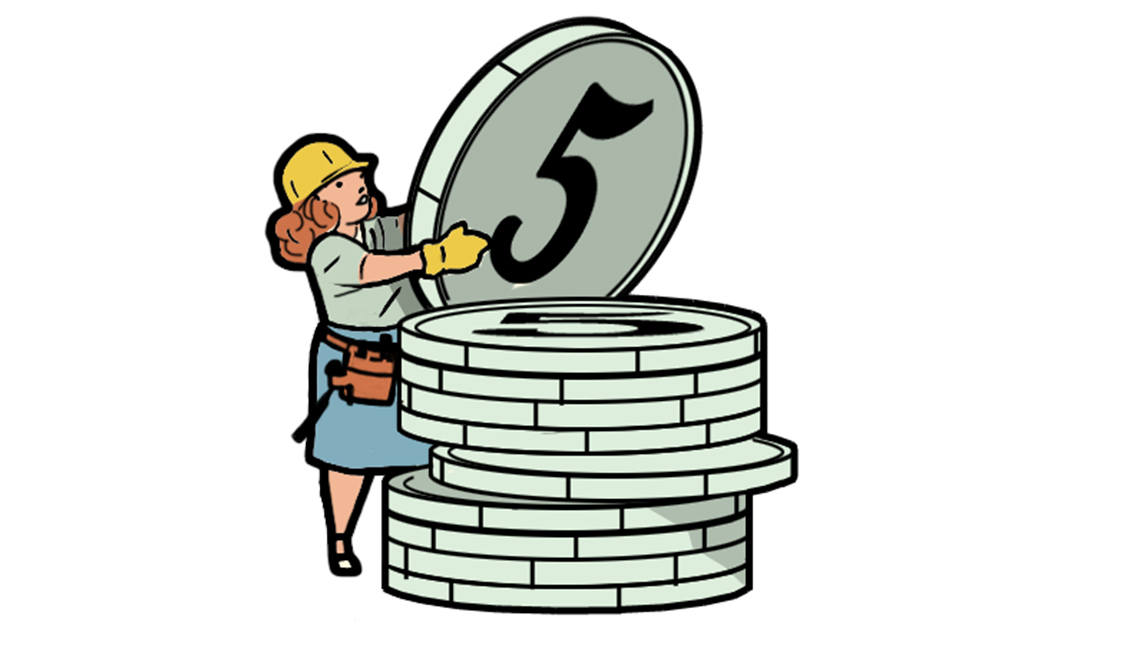Penny pinchers: The Nickel Builder