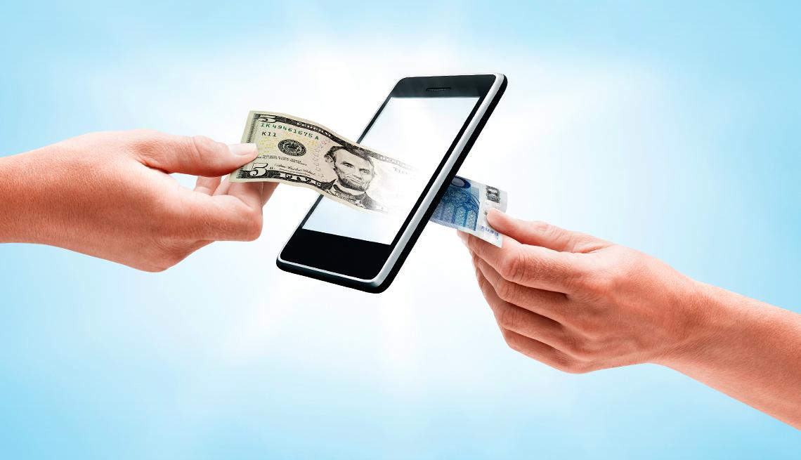 Peer to peer send money apps
