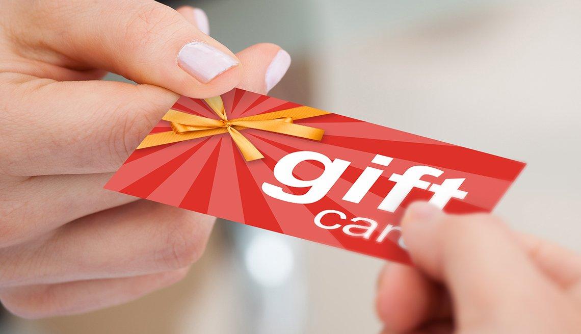 Gift card rankings