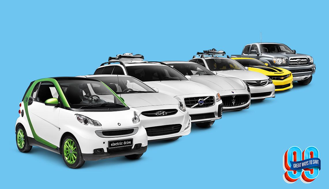 Autos en fila