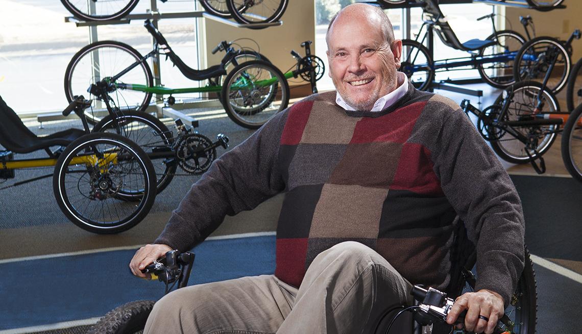 Ben Jones, 55 Bike-shop owner