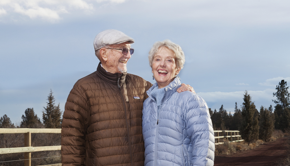 Edie Jones, 80, and Ted Jones, 86 Retired summer-camp owners