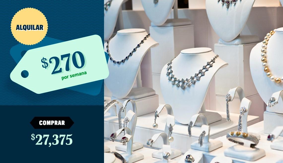 item 5 of Gallery image - Mostrador con joyas