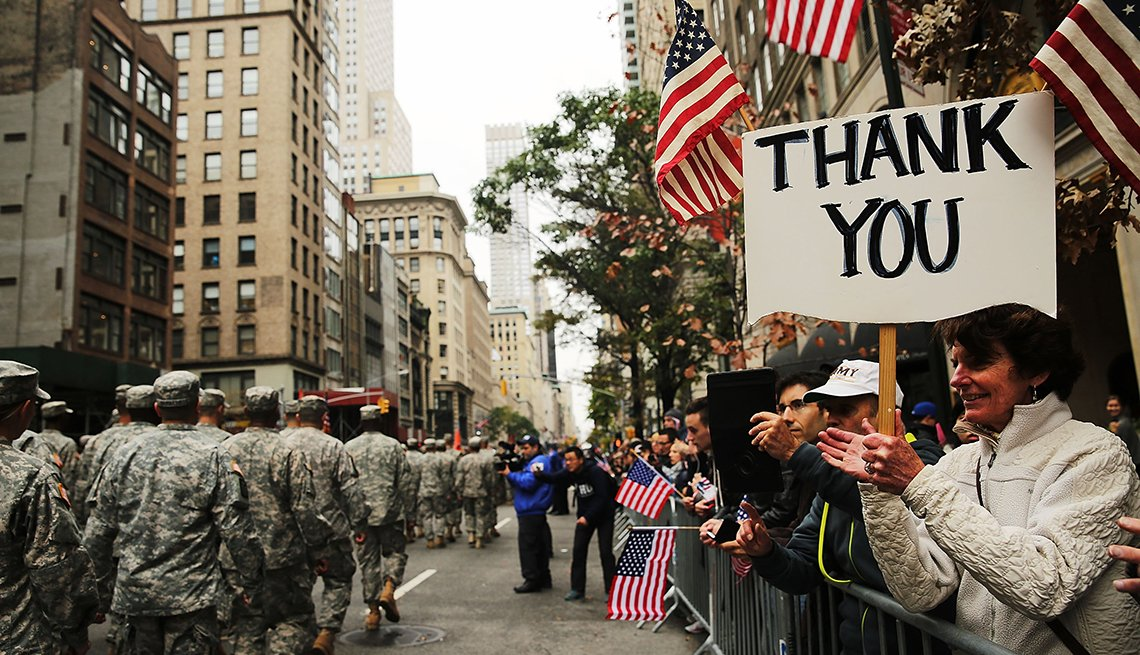 Discounts And Deals For Veterans On Veterans Day