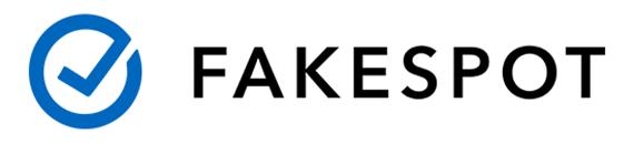 Logo de la aplicación Fakespot.