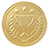 illustration of a gold medal