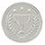 illustration of a silver medal