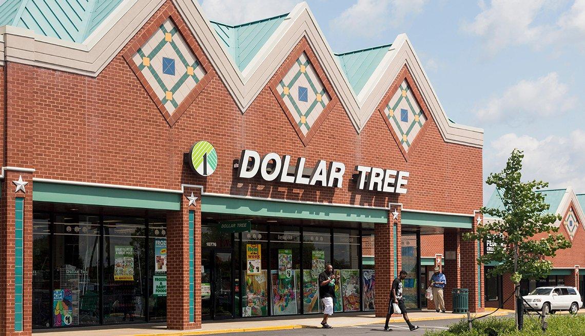 Entrada a una tienda Dollar Tree