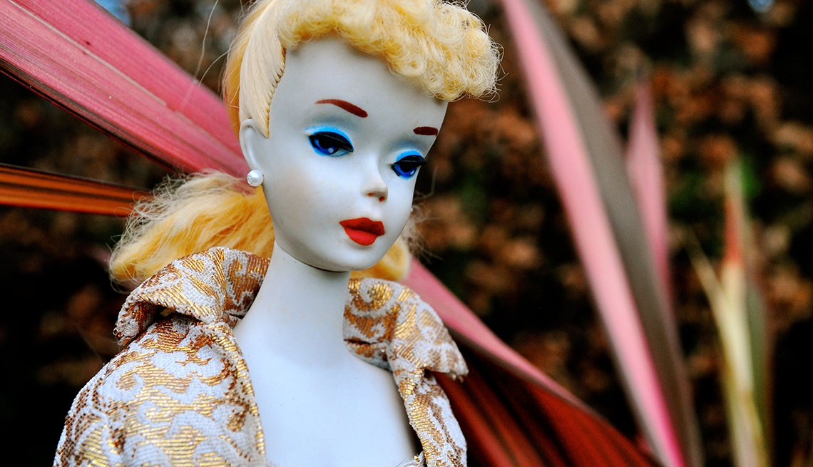 item 2 of Gallery image - closeup of vintage number three barbie doll from nineteen sixty
