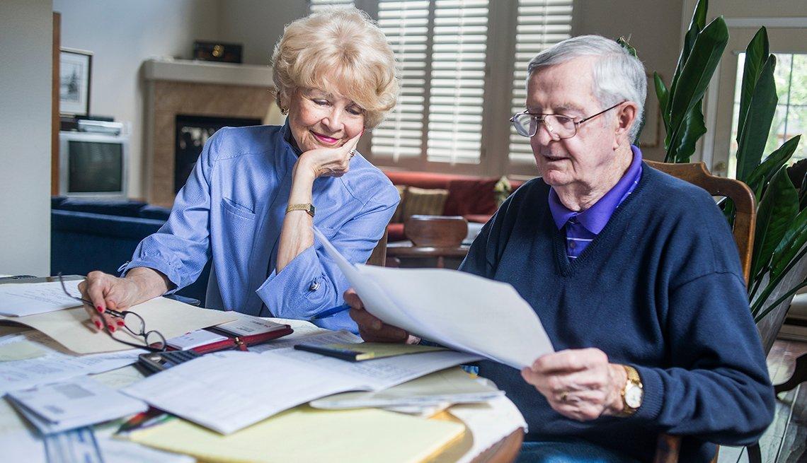 Richard Kreutzer y Mary Kreutzer en Lakewood, Colorado. ¿Tendrán suficiente dinero para la jubilación?