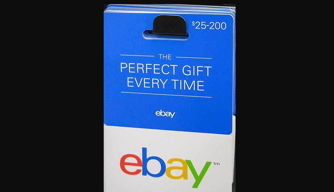 Tarjeta de regalo de eBay