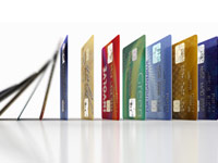 debt challenge secrets to improve credit score row of credit cards