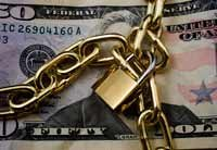 When to take money from your retirement fund and repay a debt- money under lock and key
