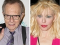 Larry King and Courtney Love, Celebrity money trouble