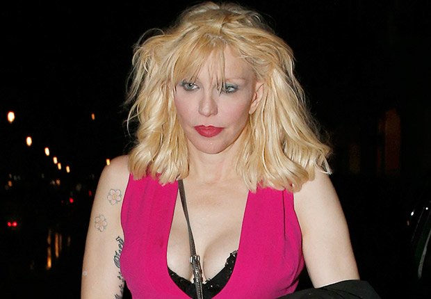 Courtney Love. The irreverent widow of Nirvana frontman Kurt Cobain has faced a string of money troubles over the years. In 2009, Love was sued by American Express after she refused to pay for charges on her AmEx Gold card.