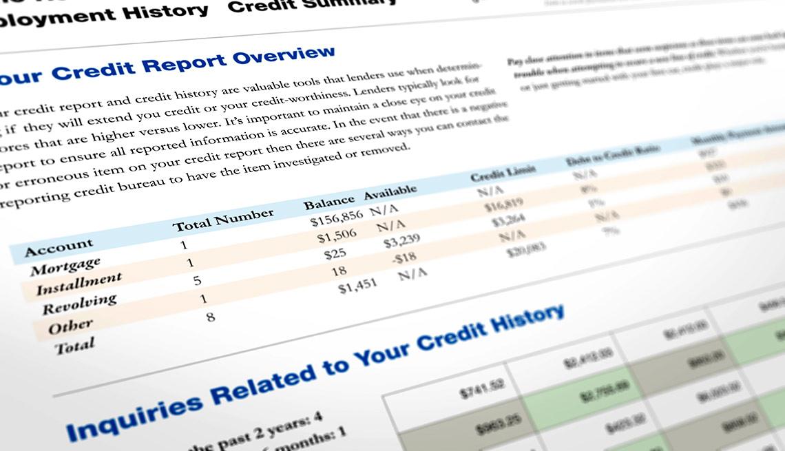 Informe de crédito