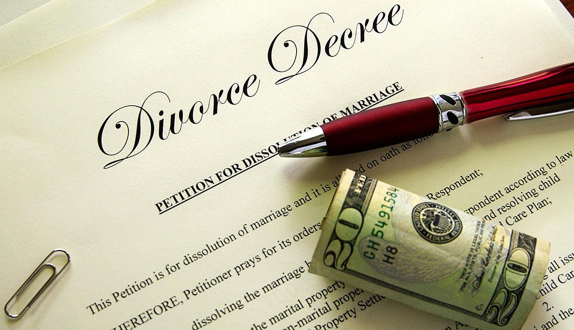 Ways Bad Credit costs you money - Costly divorce