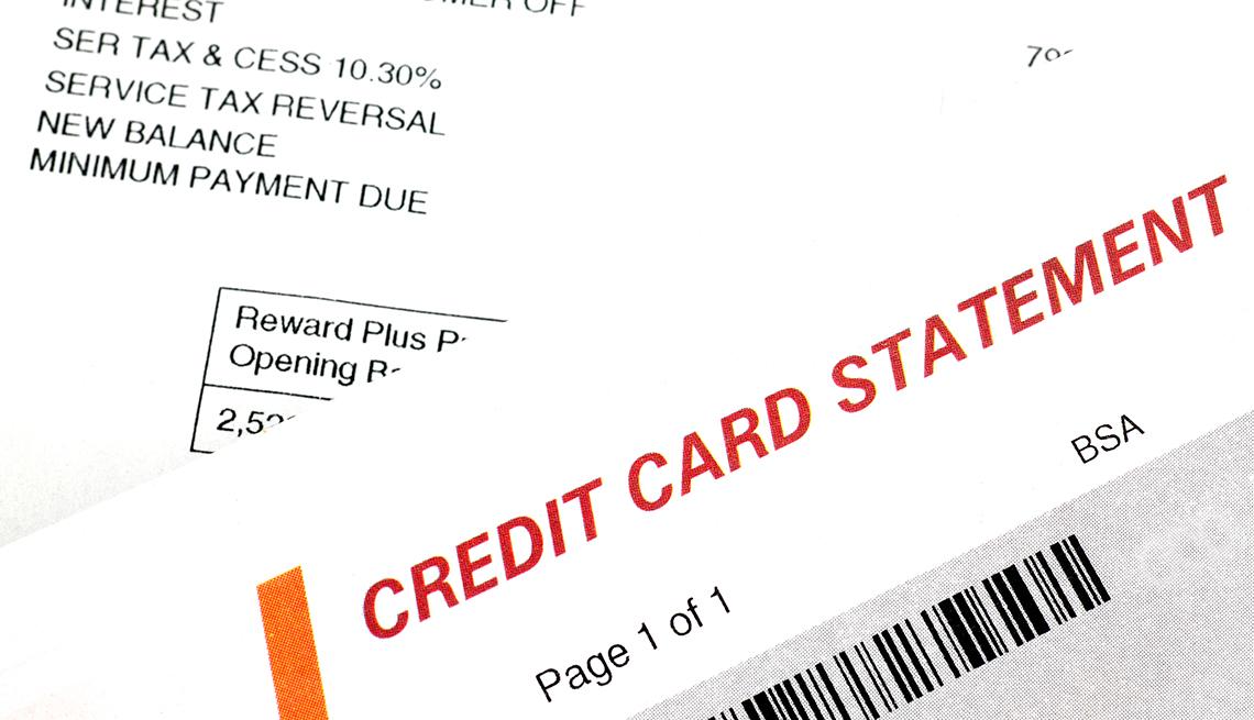 Estado de cuenta de una tarjeta de crédito y cómo deberías manejarla.