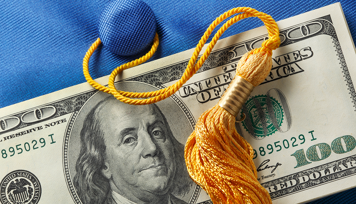 Student loan debt skyrocketing for people over 60