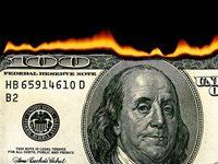 Ride out the stock market dip by selling some losses and calling your Congressman- burning one hundred dollar bill