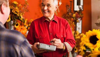 Un cliente en una floristería - Su pequeña empresa puede ser la clave para su jubilación