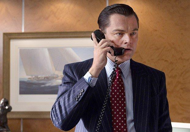 Leonardo di Caprio en Wolf Wall - Movimientos malos de dinero