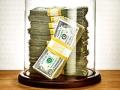Dinero dentro de una cúpula de cristal, cuando los números de tus finanzas estan bien  ¿Puedes cuidar sus finanzas?