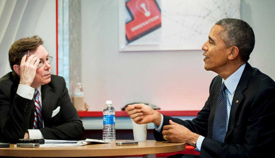 President Obama, AARP Magazine Editor Bob Love interview, AARP headquarters, transcript