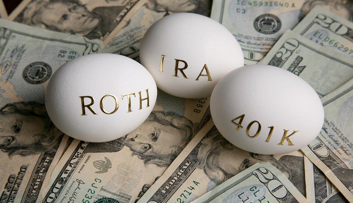 Invertir dinero para la jubilación - Roth IRA