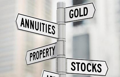 Imagen de un poste con indicadores de finanzas, como oro, propiedades, acciones - Lo que debes y no debes hacer en el 2016 con tu dinero Getty Images