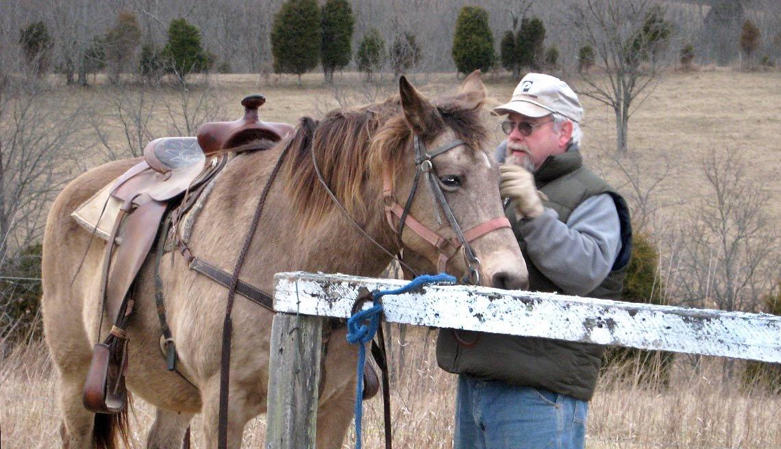 Jim Gash, Farmer, Owenton, Kentucky