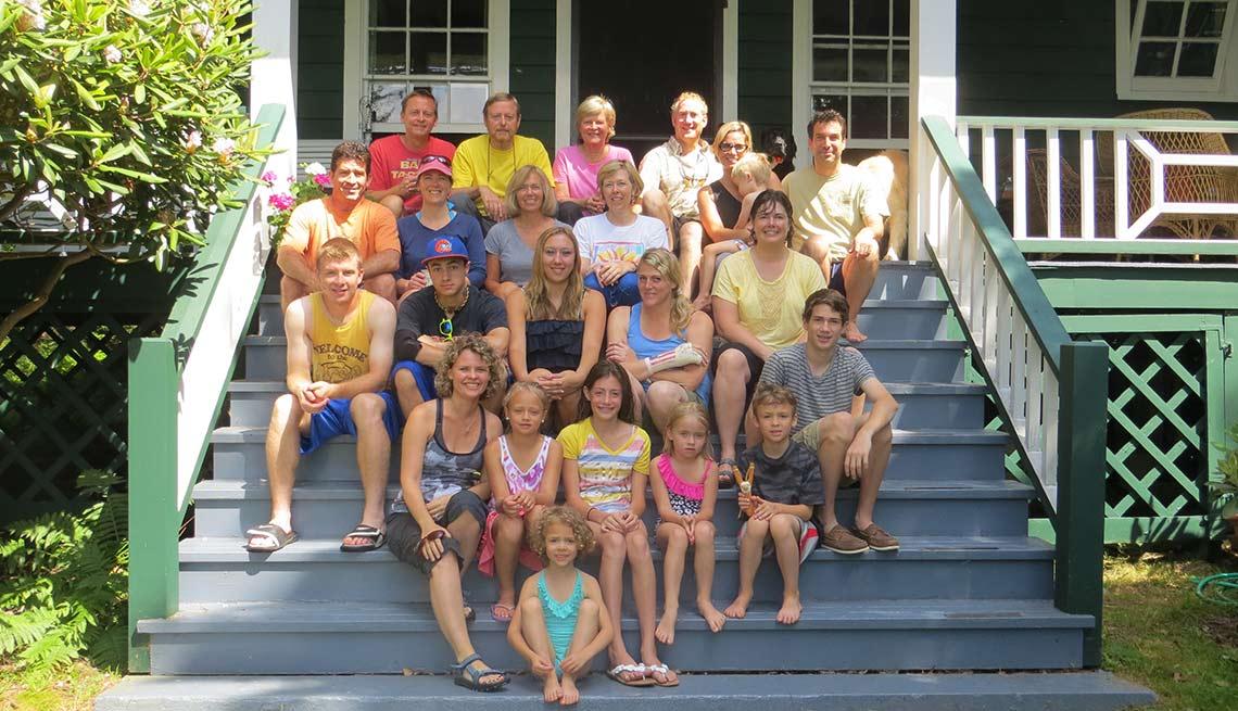 La familia de Robert Smith - Cómo mantener una casa de vacaciones en la familia